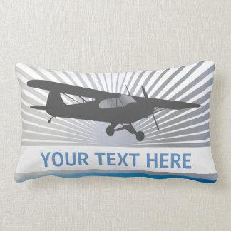 High Wing Taildragger Aircraft Pillows