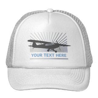 High Wing Taildragger Aircraft Hats