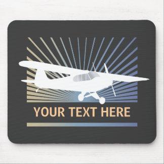 High Wing Taildragger Aircraft Mousepad