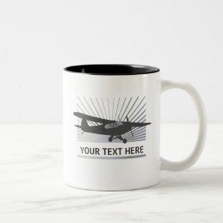 High Wing Taildragger Aircraft Coffee Mugs