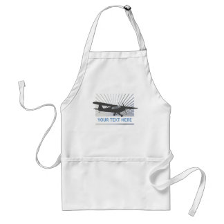 High Wing Taildragger Aircraft Standard Apron