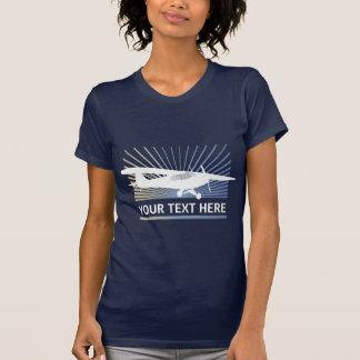 High Wing Taildragger Aircraft Tee Shirts