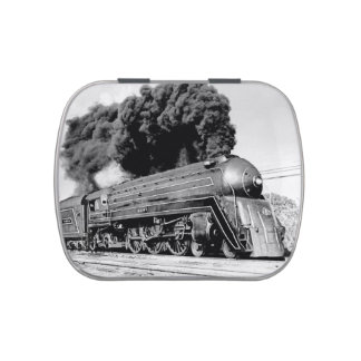 Highball It! Vintage Art Deco Locomotive Engine Candy Tins