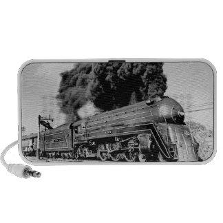 Highball It!  Vintage Locomotive Travel Speakers