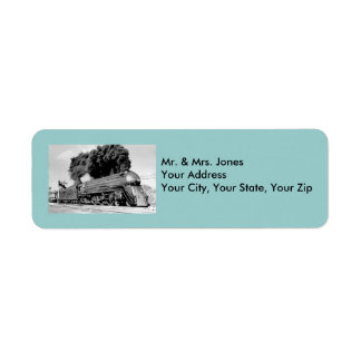 Highball it!  - Vintage Return Address Label