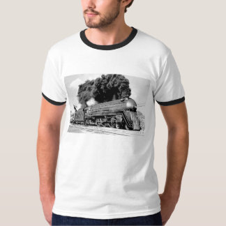 Highball It! Vintage Smoking Locomotive T-Shirt