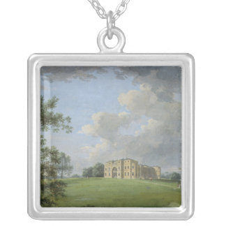 Highcliffe, near Christchurch, from the Park Silver Plated Necklace