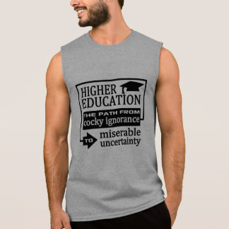 Higher Education humor shirts & jackets