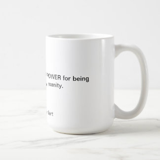 HIGHER POWER COFFEE MUG