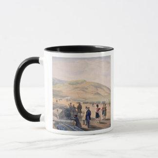 Highland Brigade Camp, plate from 'The Seat of War Mug