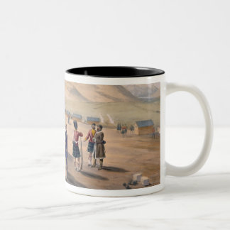 Highland Brigade Camp, plate from 'The Seat of War Two-Tone Coffee Mug