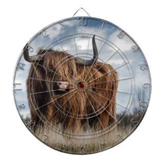 Highland Bull Dartboard