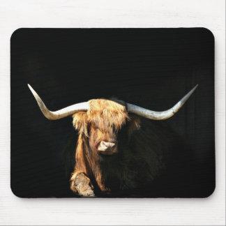 Highland Bull mousepad