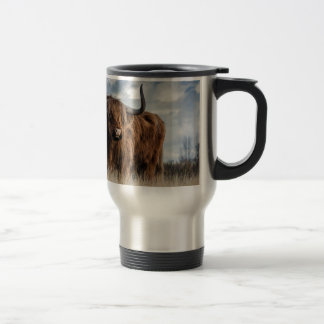 Highland Bull Travel Mug