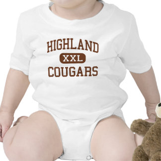 Highland - Cougars - High School - Ewing Missouri Rompers