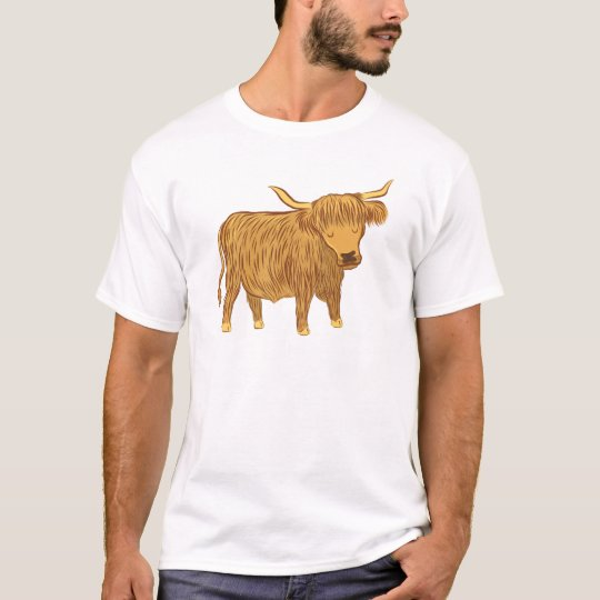 highland cow (coo) T-Shirt