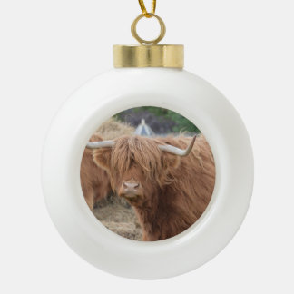 Highland Cow Ornaments