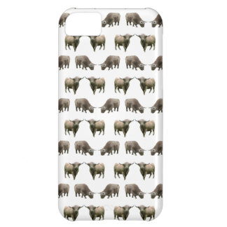 Highland Cow Frenzy iPhone 5 Case (choose colour)
