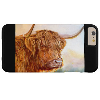 Highland Cow Ipod 6 case - black
