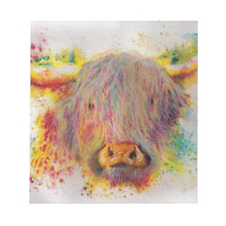 Highland Cow Notepad