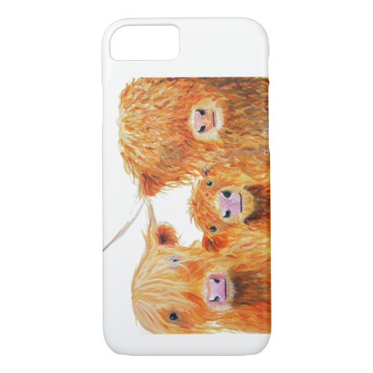 Highland Cow ' We 3 Coos ' Iphone