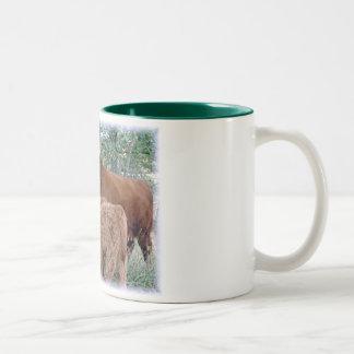 Highland Cow with Calves Coffee Mugs