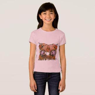 Highland Cows ' THE LOVELIES' by Shirley MacArthur T-Shirt