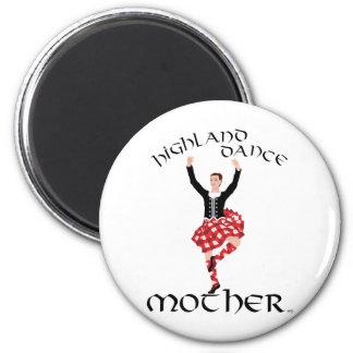 Highland Dance Mother 6 Cm Round Magnet
