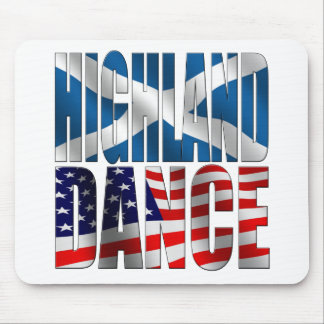 Highland Dance Mouse Pad