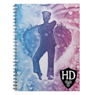 Highland Dancer Note Pad Notebooks