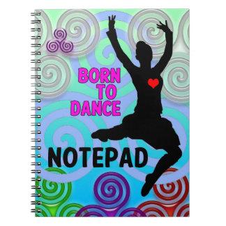 Highland Dancer Notepad Notebook