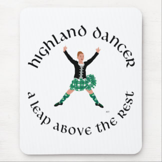 Highland Dancers a Leap Above the Rest Mouse Pad