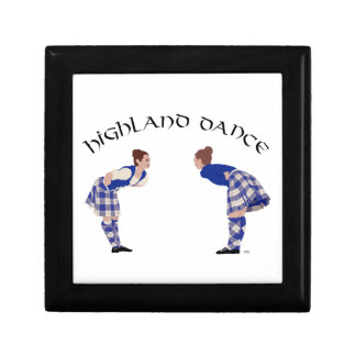 Highland Dancers Bow Gift Box