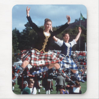 Highland Dancing Mouse Pad