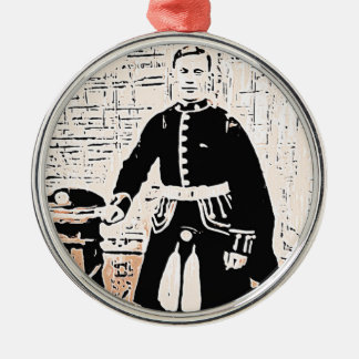 Highland Gent Christmas Ornament
