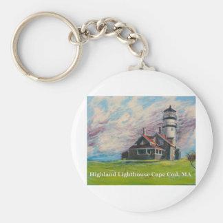 Highland Lighthouse Cape Cod, MA Key Ring