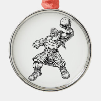 highland lion christmas ornament
