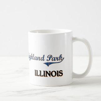 Highland Park Illinois City Classic Basic White Mug