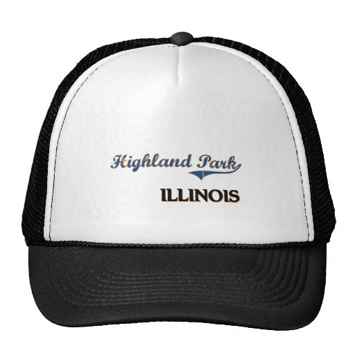 Highland Park Illinois City Classic Hats