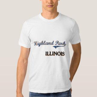 Highland Park Illinois City Classic Tees