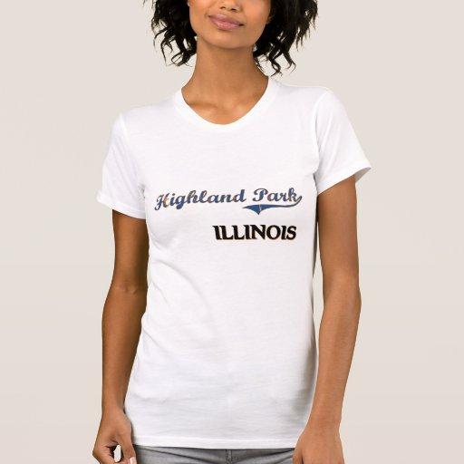 Highland Park Illinois City Classic Tee Shirts