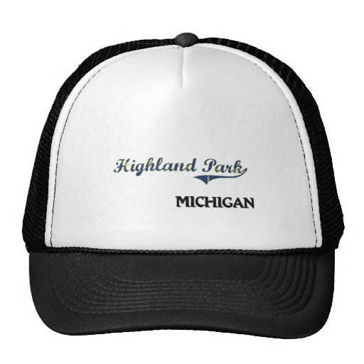 Highland Park Michigan City Classic Mesh Hats