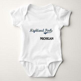Highland Park Michigan City Classic Shirts