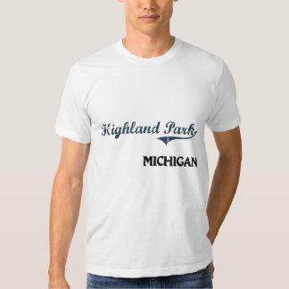 Highland Park Michigan City Classic T Shirts