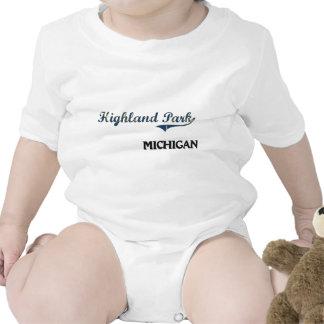 Highland Park Michigan City Classic Tee Shirts