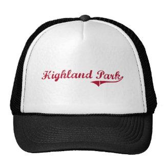 Highland Park New Jersey Classic Design Trucker Hat