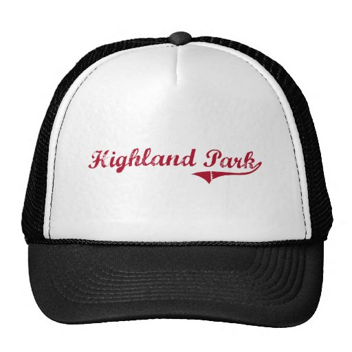Highland Park New Jersey Classic Design Trucker Hat