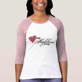 Highland pony shirt