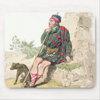 Highland Shepherd, from 'Costume of Great Britain' Mouse Pad