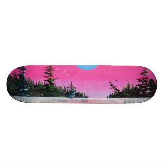 Highland spray can art print 21.6 cm old school skateboard deck